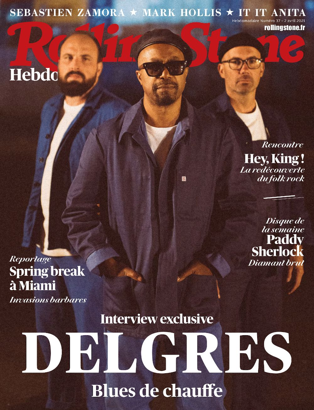 Delgres French Rolling Stone cover